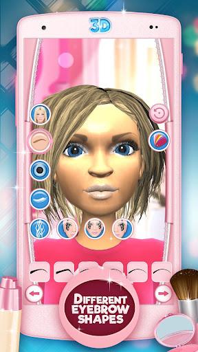 Makeup Games 3D Beauty Salon 3.0.1 screenshots 7