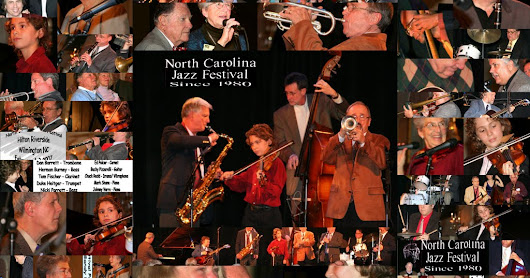 NC Jazz Festival Collages Landscape 10yrs