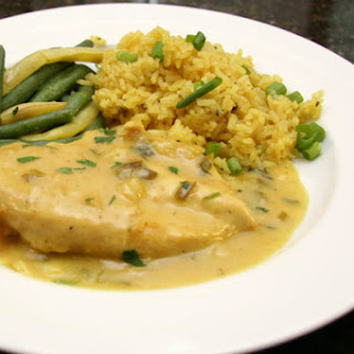 Coconut Curry Chicken Breasts.
