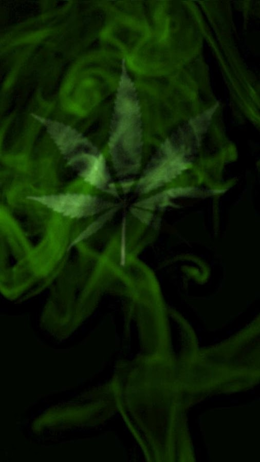 Marijuana Live Wallpaper  - Wispy Smoke FREE- screenshot