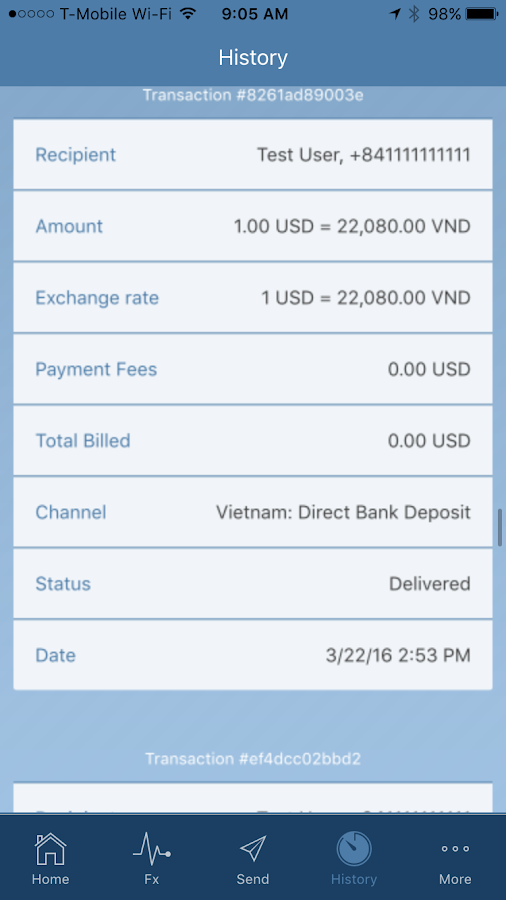 P2P Cash- screenshot