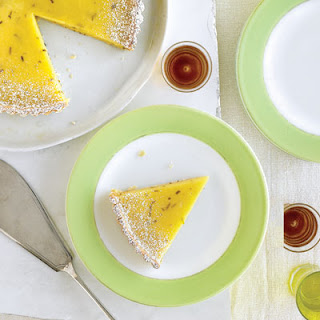 Lime Tart with Lemon Crust