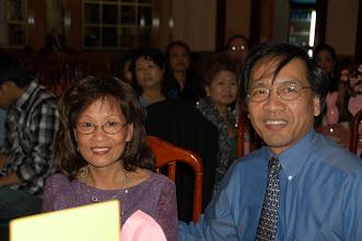 Photo: Mr & Mrs Socievy,PA