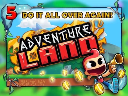 Adventure Land - Wacky Rogue Runner Free Game screenshot 12