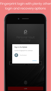 Personal Vault PRO – Password Manager Paid Mod 1