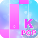 Kpop piano bts tiles game icon