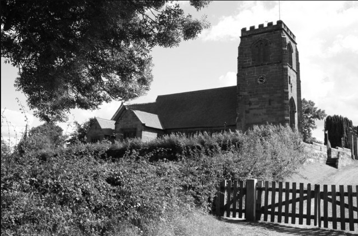 St Mary's Church Tilston, Cheshire.png