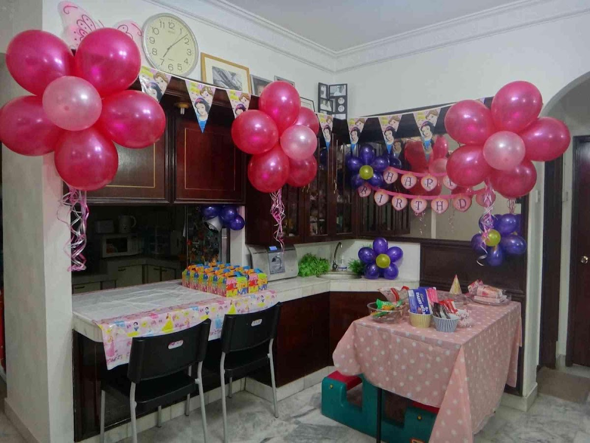 Home birthday decoration android apps on google play for Backyard party decoration crossword