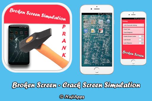 Broken Screen - Crack Prank