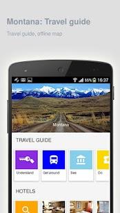 Montana: Offline travel guide - náhled