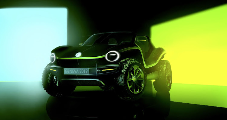 The Volkswagen e-buggy concept