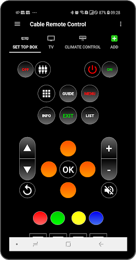 Cable Remote Control 7.0.6 androidtablet.us 1