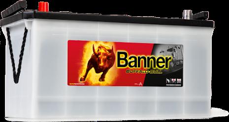 Startbatteri Banner BB12V/100A 60035