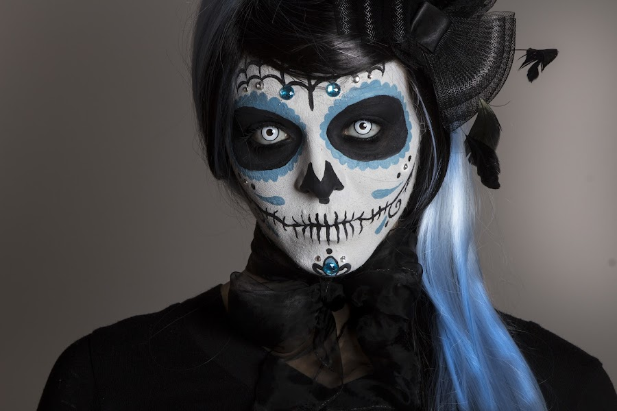 Day of the Deadf by Paul Claridge - People Body Art/Tattoos