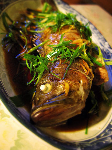 classic, cantonese, steamed, fish, chinese, recipe, chinese steamed fish, 清蒸鱼