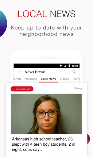 Screenshot for News Break: Local & Breaking in United States Play Store