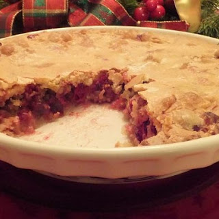 Cranberry Breakfast Pie