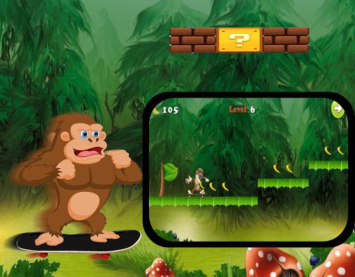 Monkey Skater Banana