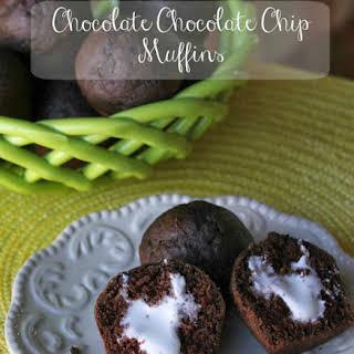 Chocolate Buttermilk Muffins.