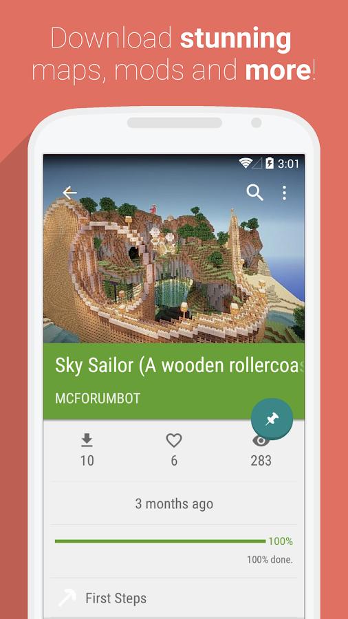 UTKio For Minecraft PE Apps On Google Play - Minecraft pe server erstellen iphone