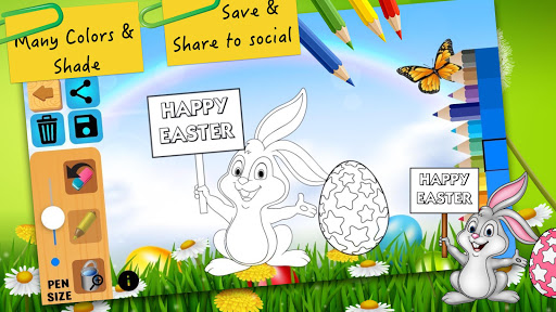 Easter bunny egg coloring book 1.06 screenshots 4