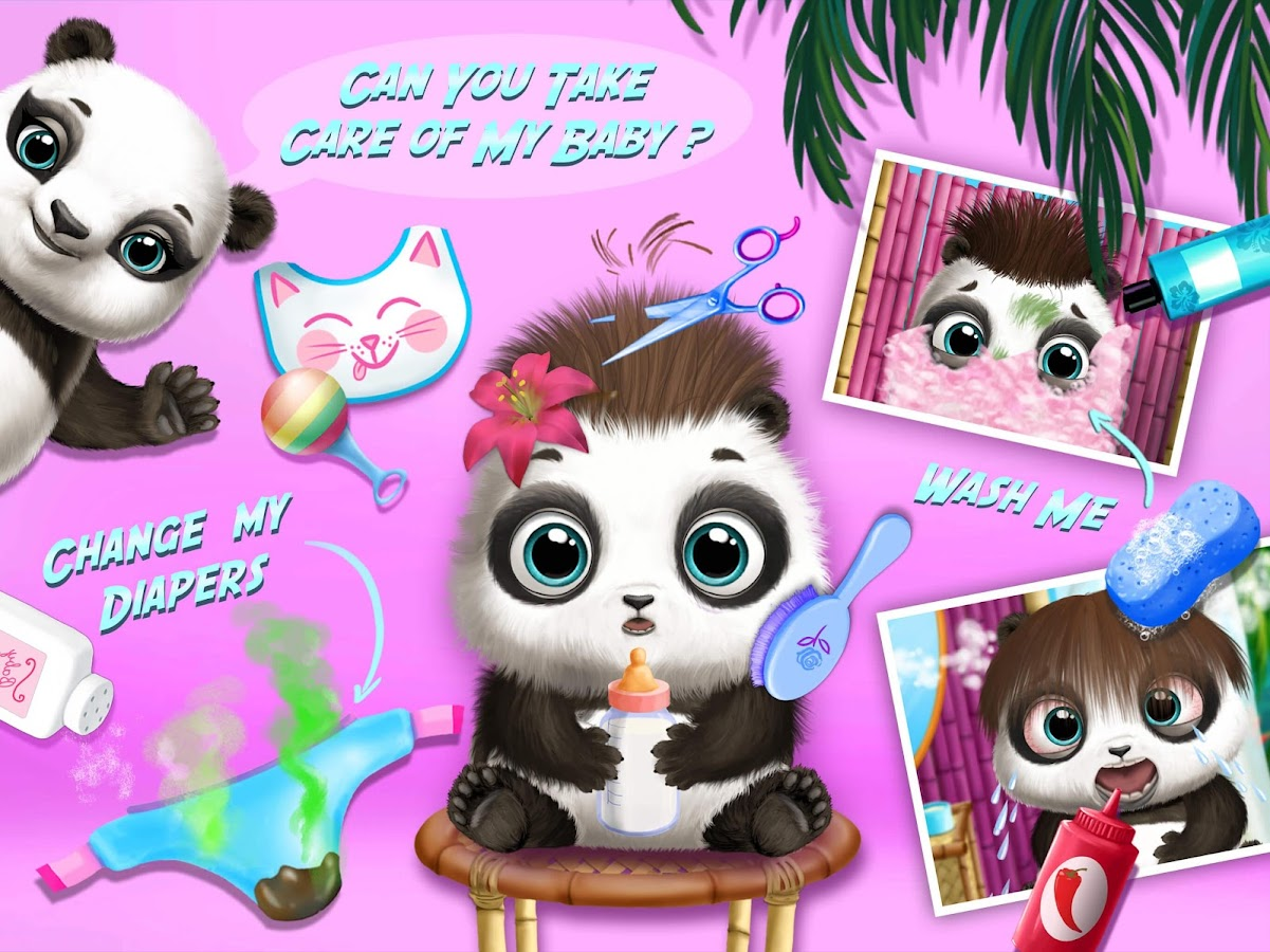 Baby Animal Hair Salon 2- screenshot
