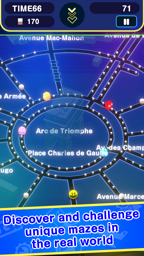 PAC-MAN GEO modavailable screenshots 4
