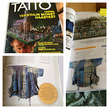 Photo: i was published in the taito craft magazine in Finland in February.