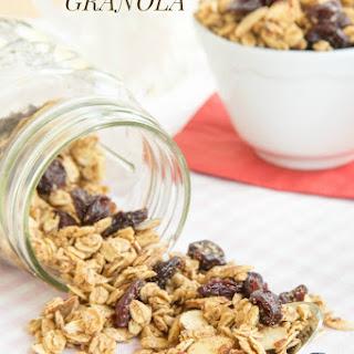Cherry Vanilla Almond Granola