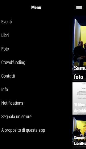 android Samuele Editore Screenshot 2