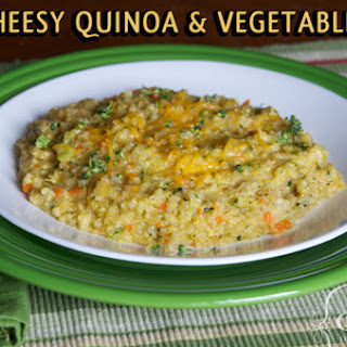 Cheesy Quinoa and Veggies