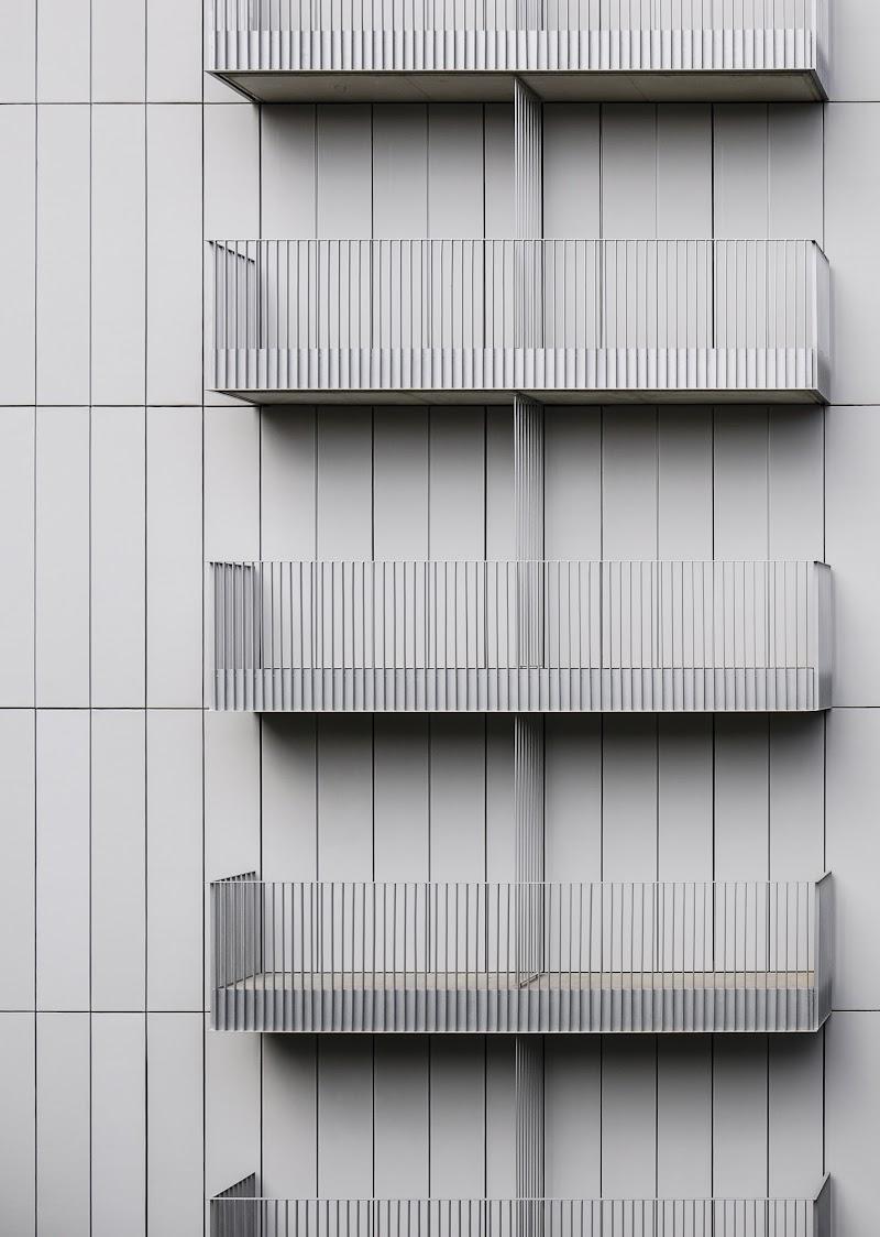 Edificio de viviendas de la calle Arizala de Barcelona - AVA Studio