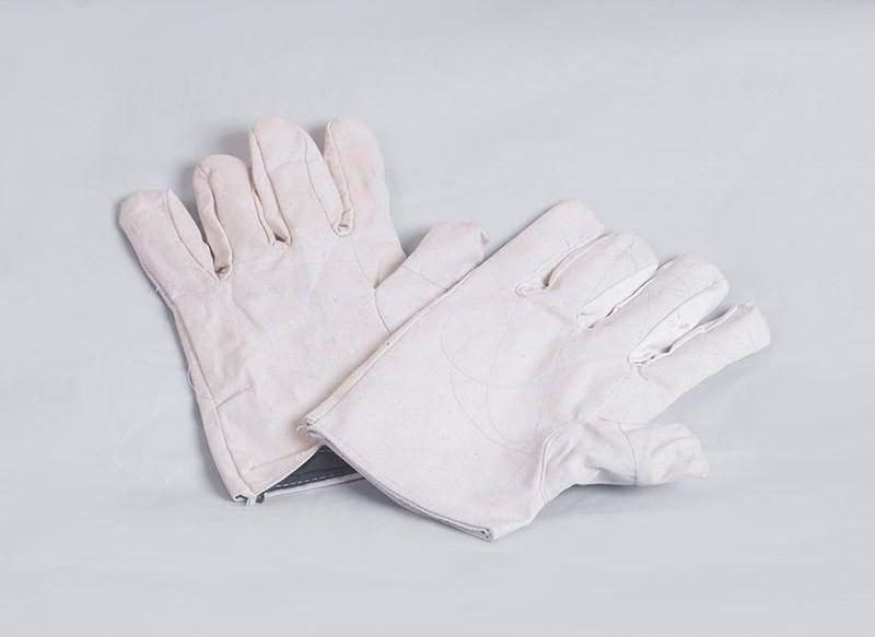 Găng tay vải bạt trắng Việt Nam Bảo hộ lao động Thăng Long
