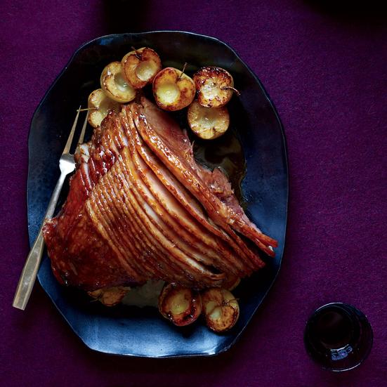 Clove-and-Cider-Glazed Ham