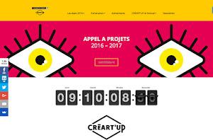 création de site internet réalisée par Créartup