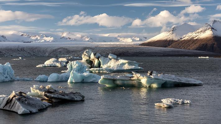 Scioglimento del Vatnajokull (Islanda)