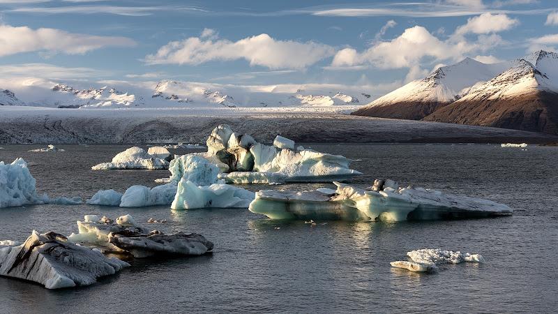 Scioglimento del Vatnajokull (Islanda) di Bitop62