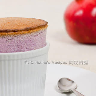 Pomegranate Souffle.