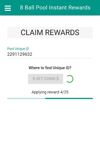 Pool Instant Rewards - Free coins  screenshots 5