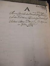 Photo: A Anna Gerrijts alias Bo.... van Dordregt deb 19 Juny 1686 Antie Sioerdst van Leuwarden den 6 Juny 1686 Anthoni Abere van Bergen in Henegouwen 10 July 1686