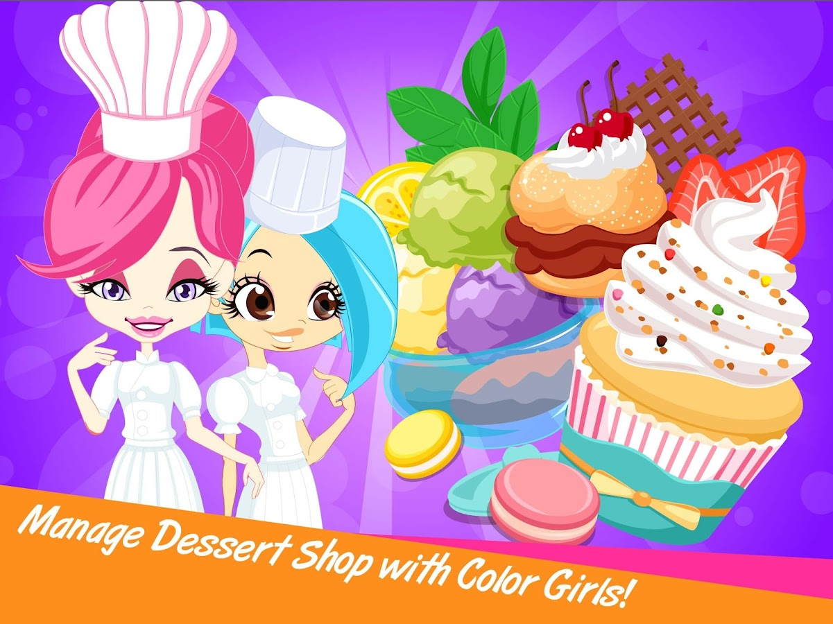 Color Girls Dessert Shop- screenshot
