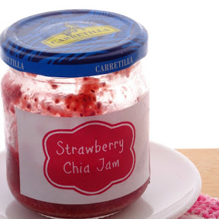 Healthy Three-Ingredient Strawberry Chia Jam