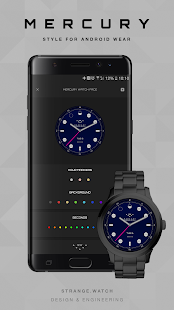 SW Mercury Watch Face- screenshot thumbnail