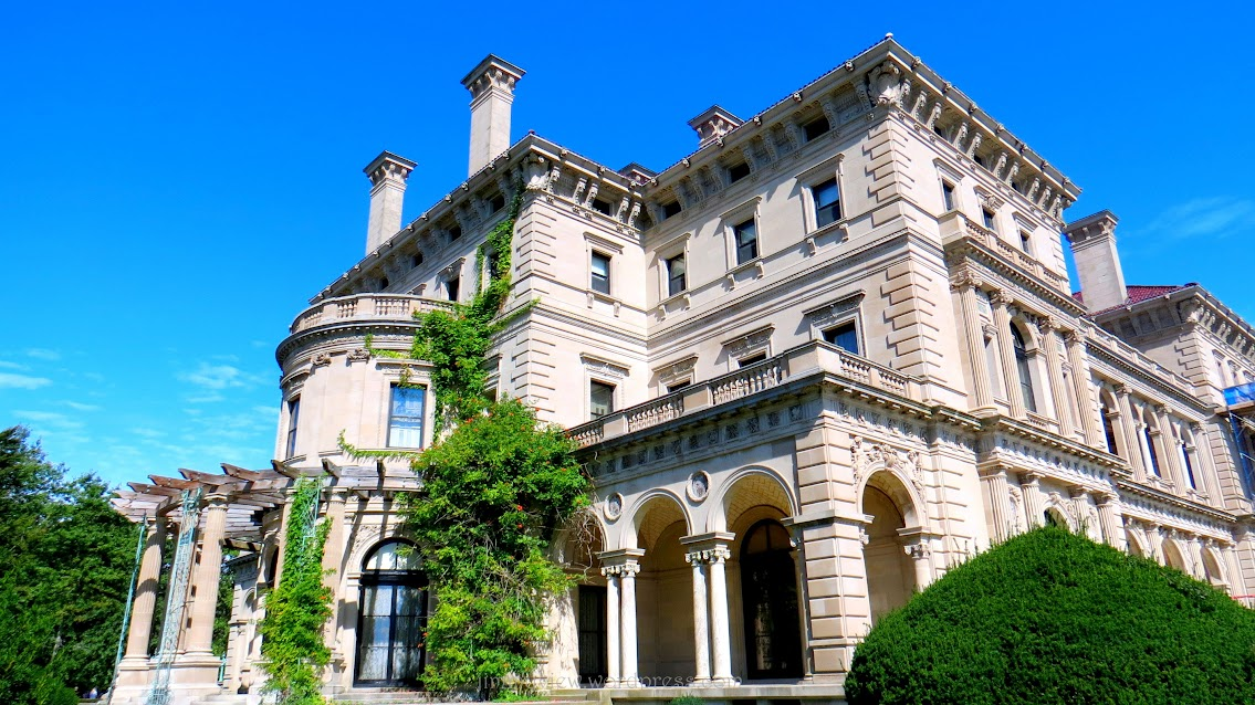 The Breakers from the yard.