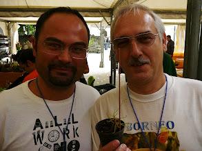Photo: The EEE 2008 in Mira, Italy. Federico di Carlo and Siggi with Drosera hartmeyerorum.