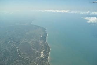 Photo: crossing the Tanzanian coast