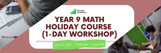 Year 9 Math Holiday Course (1-day workshop)