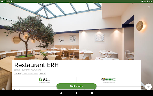 TheFork - Restaurants booking and special offers- screenshot thumbnail