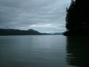 Photo: Looking toward Dry Strait next to Kadin Island.