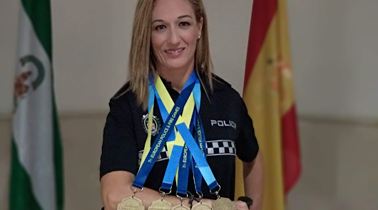 María del Mar Hernández se viste de oro